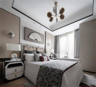 100平米三中式风格卧室图