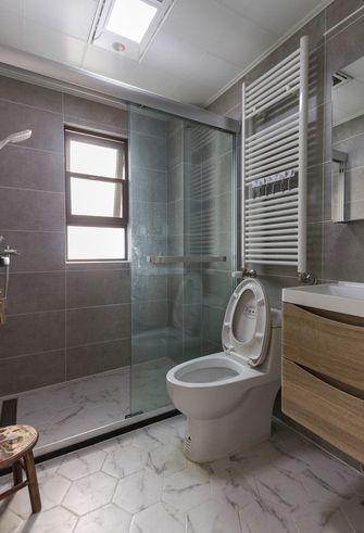 110平米三室两厅北欧风格卫生间图片大全