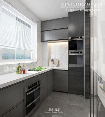 130平米三室两厅中式风格厨房图片