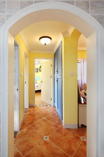 80平米田园风格走廊效果图