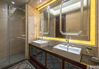 120平米四室一厅混搭风格卫生间装修效果图