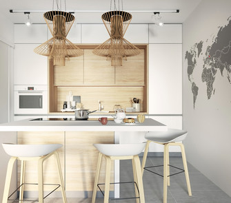 70平米公寓东南亚风格餐厅图片