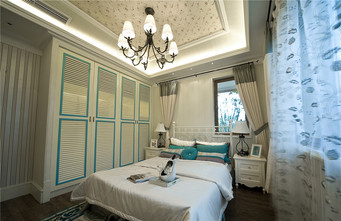 80平米地中海风格卧室图片大全