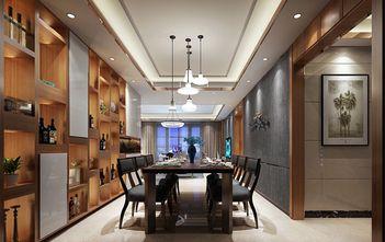 100平米三现代简约风格餐厅背景墙图