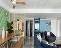 140平米四室一厅北欧风格餐厅图片大全