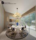 140平米四室两厅日式风格餐厅图片