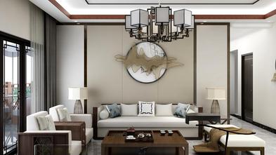 120平米四中式风格客厅装修案例