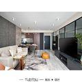 20万以上70平米一居室现代简约风格客厅图