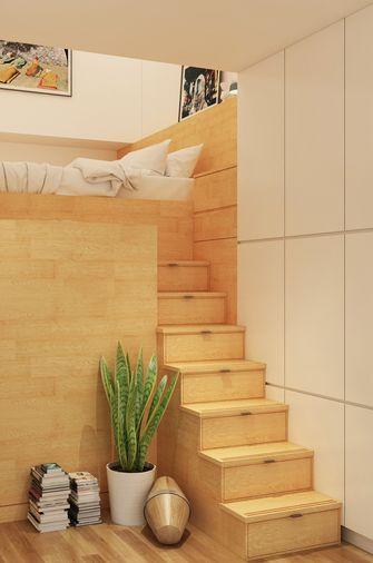 50平米公寓日式风格楼梯间设计图