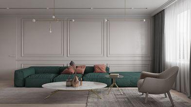 80平米公寓法式风格客厅图