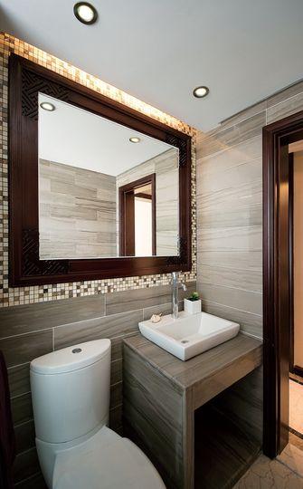 100平米三室一厅东南亚风格卫生间装修案例