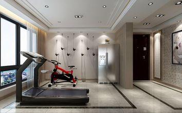 130平米三现代简约风格健身室装修图片大全