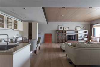 110平米三室两厅其他风格餐厅图片