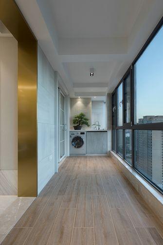 140平米四室三厅现代简约风格阳台图