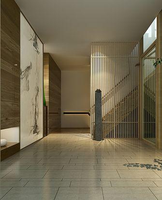 豪华型140平米别墅日式风格楼梯图片