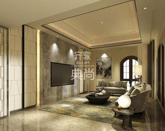140平米四室一厅中式风格客厅装修效果图