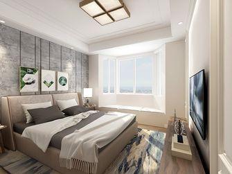 140平米四室五厅混搭风格卧室装修案例