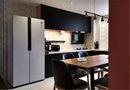 110平米三室一厅混搭风格厨房图片大全