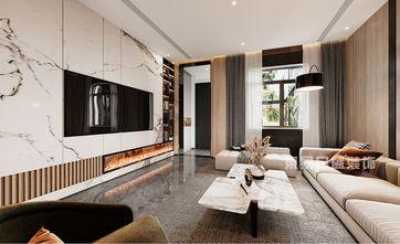 140平米四室三厅现代简约风格客厅装修案例