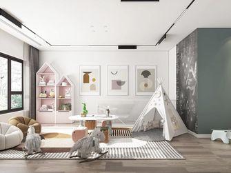 120平米三室两厅现代简约风格儿童房装修案例
