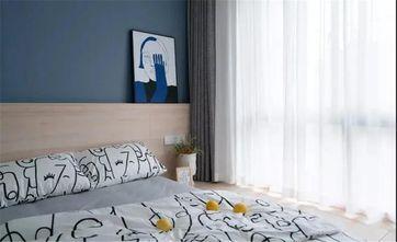 50平米小户型北欧风格卧室效果图