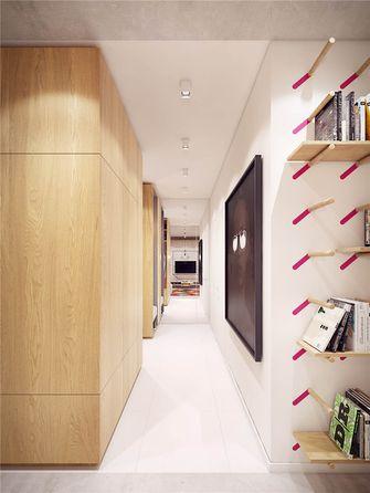 富裕型90平米三室三厅宜家风格衣帽间图