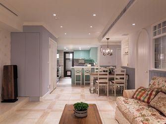 110平米三室两厅田园风格客厅效果图