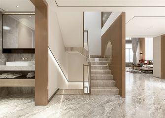 140平米别墅中式风格楼梯间装修效果图
