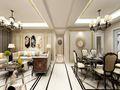 140平米四室一厅欧式风格客厅图片