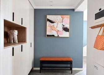 90平米三室一厅北欧风格玄关图片大全
