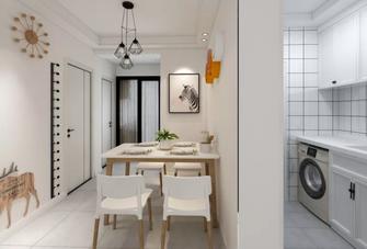 80平米公寓北欧风格餐厅装修图片大全