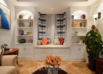 富裕型90平米三室两厅现代简约风格客厅效果图