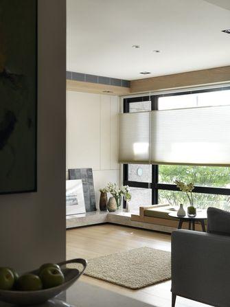 140平米复式现代简约风格阳台效果图