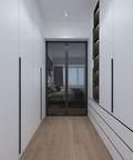 120平米三室两厅中式风格衣帽间设计图