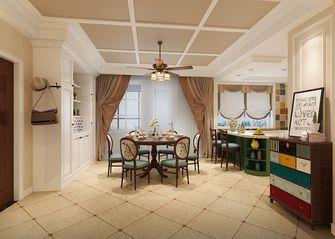 130平米别墅欧式风格餐厅效果图