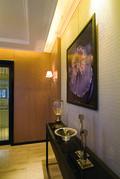 110平米三室两厅东南亚风格玄关装修效果图
