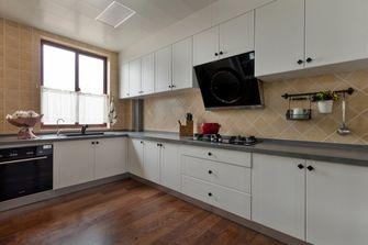 120平米四室两厅田园风格厨房欣赏图