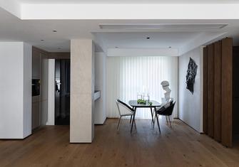 140平米三室一厅混搭风格餐厅图片大全