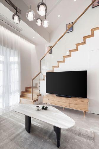 130平米复式北欧风格楼梯间欣赏图