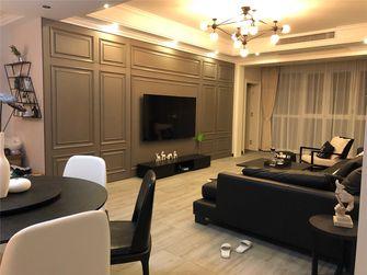 140平米四英伦风格客厅图片