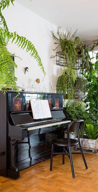 90平米三室两厅现代简约风格阳光房图片大全