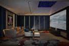 140平米别墅美式风格影音室图片大全