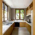 140平米四室四厅东南亚风格厨房图片
