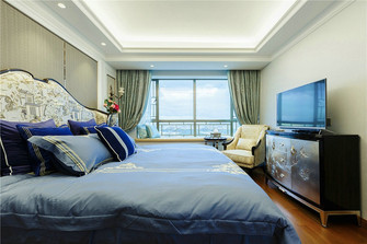 130平米三室三厅新古典风格卧室装修案例
