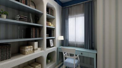 80平米地中海风格书房图片