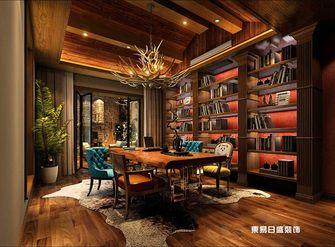 140平米复式欧式风格书房图片