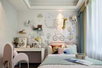 120平米四室两厅中式风格儿童房装修图片大全