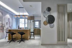 120平米四室一厅现代简约风格餐厅图