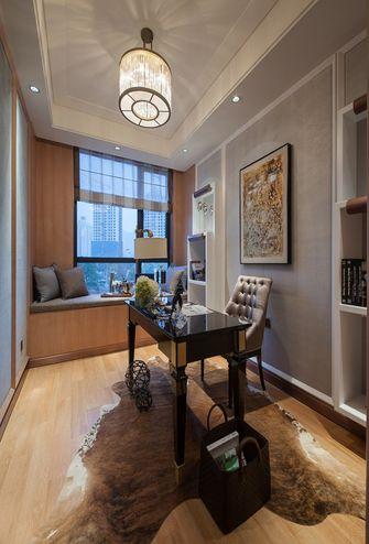 130平米三室两厅新古典风格书房图