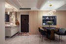 90平米三室一厅混搭风格餐厅装修图片大全